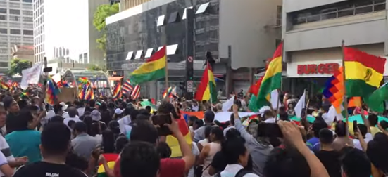 manifestacao bolivia paulista
