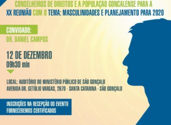 12/12 – Masculinidades e Planejamento para 2020 / RJ