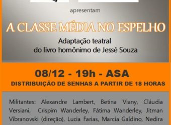 08/12 – Teatro: A Classe Média no Espelho / RJ