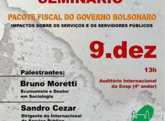 09/12 – Seminário Pacote Fiscal do Governo Bolsonaro / SP