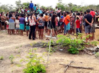 Enterro Guajajara Maranhão