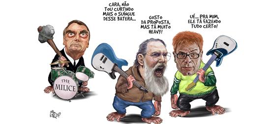 Roger Lobão e Bolsonaro