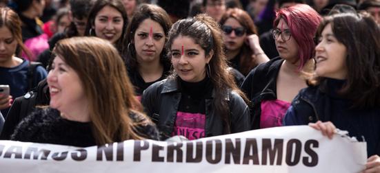 chile manifestação