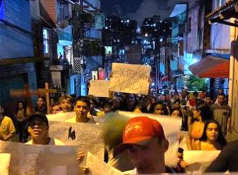 paraisópolis manifestação