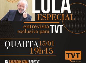 15/01 – Lula Espacial na TVT