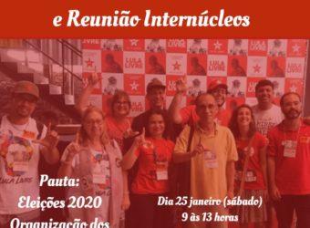 25/01 – Posse da 1ª  Zonal PT e Reunião Internúcleos / RJ