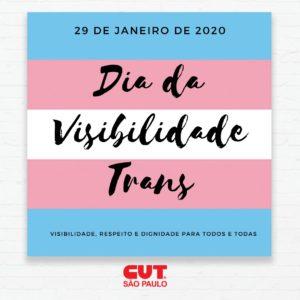 29/01 – Dia da Visibilidade Trans / SP