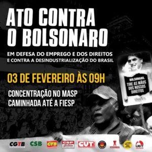 03/02 – Ato Contra o Bolsonaro / SP