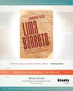 06/02 – Lançamento livro Lima Barreto: Diálogos Marginais e Identidades Periféricas /RJ