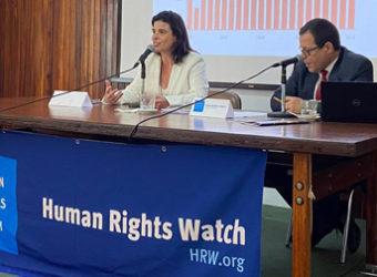 Relatório da Human Rights Watch Maria Laura Canineu
