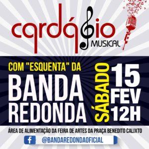01/02 – Cardápio Musical com esquenta da Banda Redonda / SP