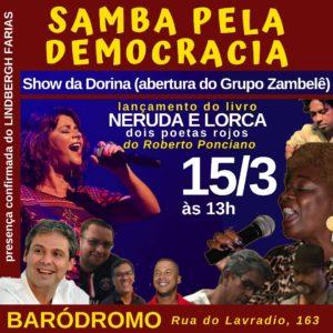 15/03 – Samba pela Democracia / RJ