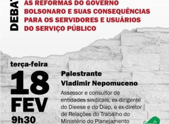 18/02 – Debate sobre a Reforma Administrativa / RJ