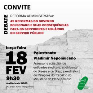 18/02 – Debate Reforma Administrativa / RJ