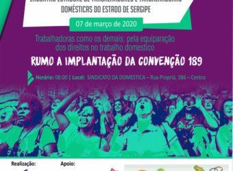 07/03 – Encontro de Trabalhadores Domésticos do Estado de Sergipe