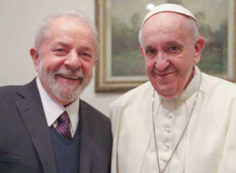 Lula e Papa Francisco