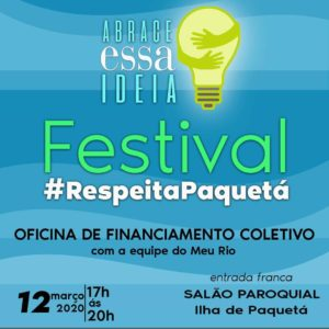 12/03 – Festival Respeita Paquetá