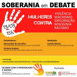 13/03 – Soberania em Debate / RJ