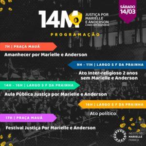 14/03 – 14M Justiça por Marielle e Anderson / RJ