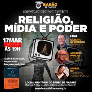 17/03 – Troca de Ideias sobre Mídia e Poder / SP