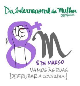 08/03 – Dia Internacional da Mulher