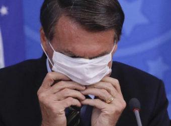 Bolsonaro coronavirus mascara