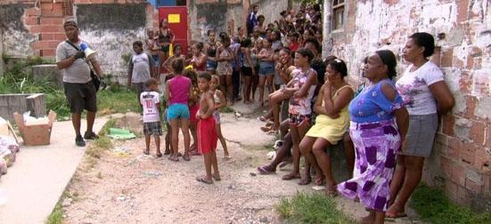 Coronavirus solidariedade favela