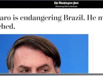 Washington Post impeachment Bolsonaro