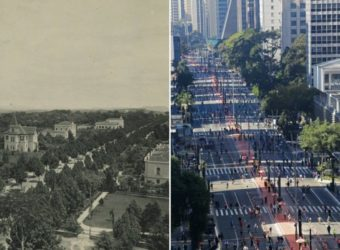avenida paulista ontem e hoje