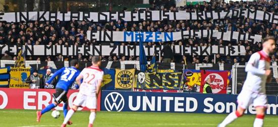 futebol alemão protestos