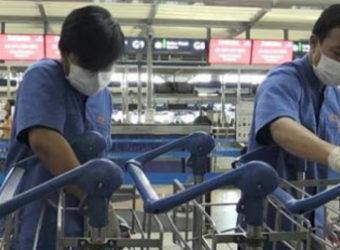 Coronavirus limpeza mercado cuidados