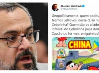 declaração racista de Weintraub