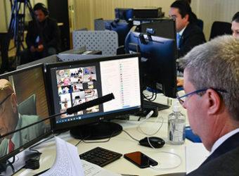 senado votação videoconferencia video