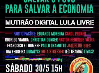30/05 – Mutirão Digital Lula Livre