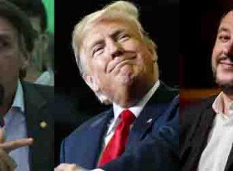 Bolsonaro Trump e Salvini