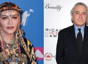 Madona e De Niro