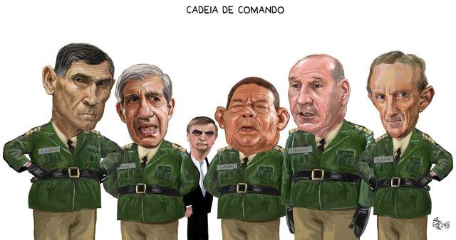 aroeira militares no poder