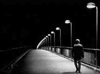 solidão estrada ponte