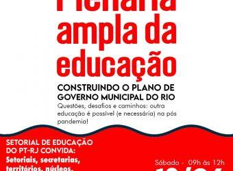 13/06 – Plenária Ampla da Educação