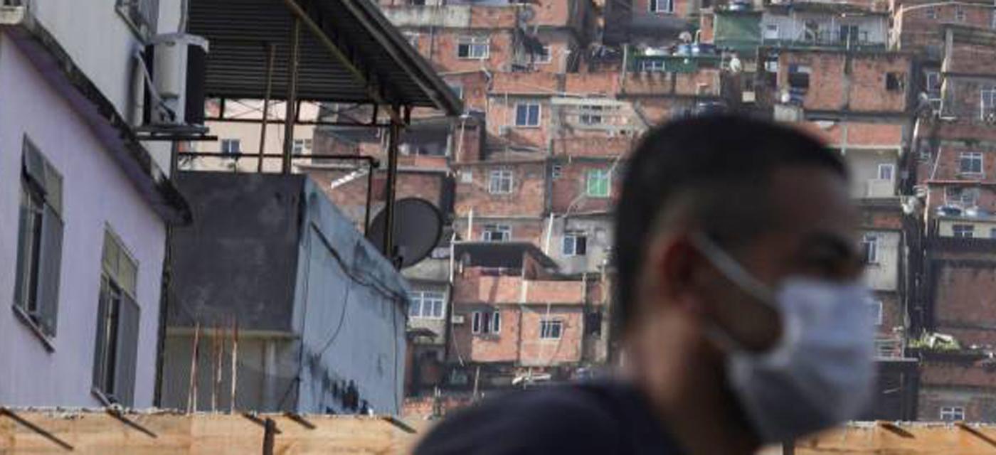 coronavirus favela