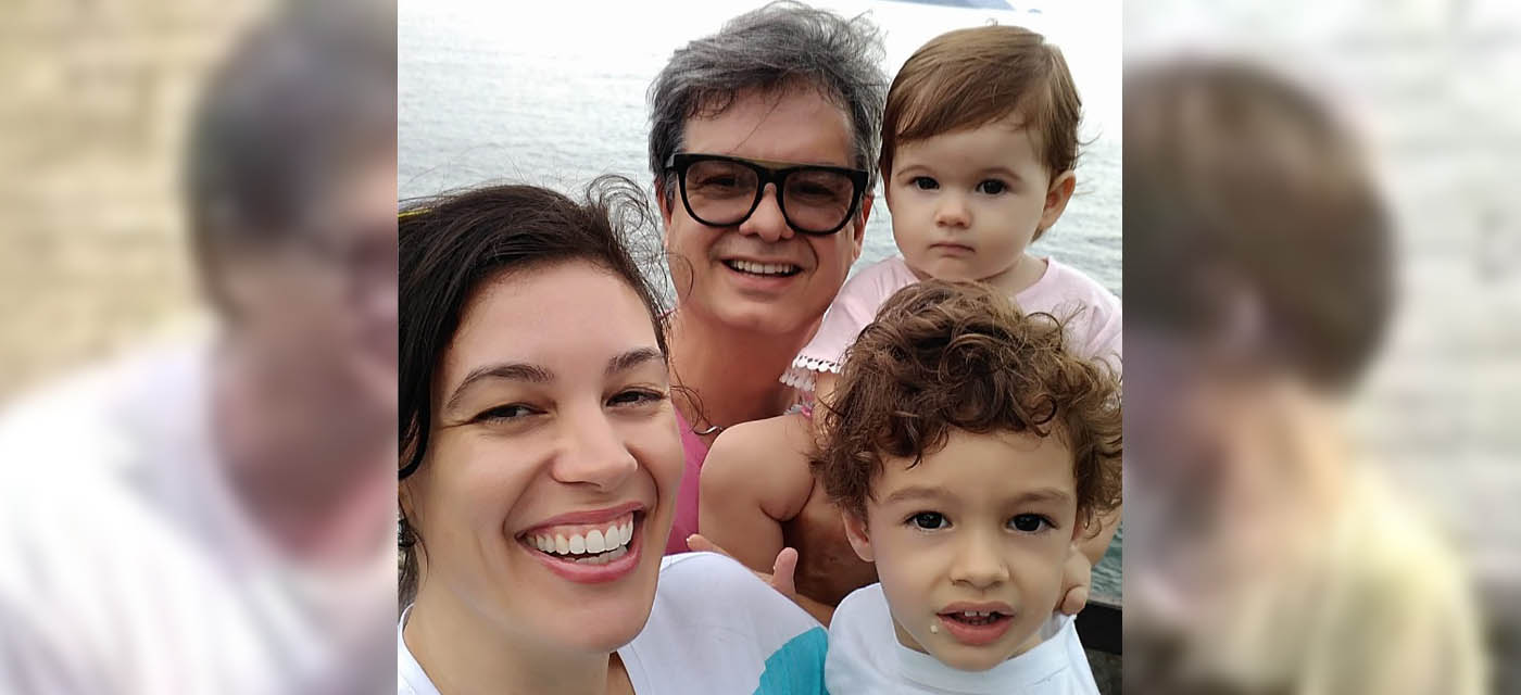 Abel Duerê e familia