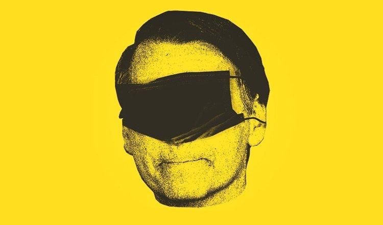 Bolsonaro silêncio e cegueira na pandemia