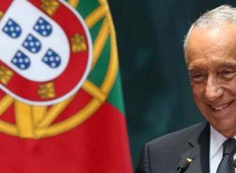 Marcelo Rebelo de Sousa pres Portugal