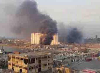 explosão no Libano